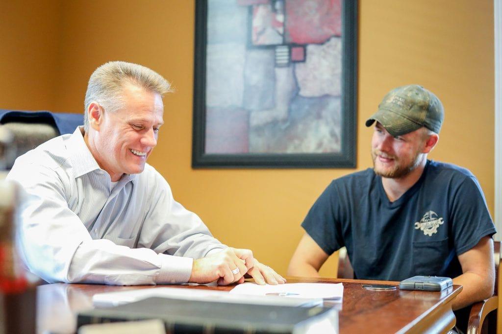 Tim coaching on upgrading business
